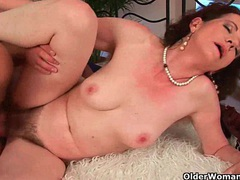 Sex starved granny fucks her toy boy movies at find-best-hardcore.com