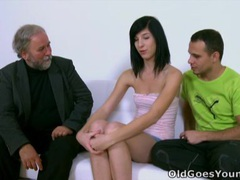 Alisa learns top suck cock with old man movies at find-best-lingerie.com