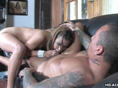 Impeccable blonde gal enjoys being mouth fucked movies at freekiloclips.com