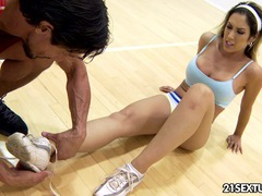 Footsie cardio movies at find-best-pussy.com