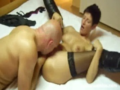 Hot amateur milf fisted by a big bald brute videos