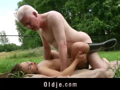 Young girl and old man fucking and licking each other videos