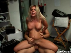Blonde fucked doggystyle in a cramped office videos