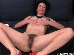Older women soaking their cotton panties with pussy juice videos