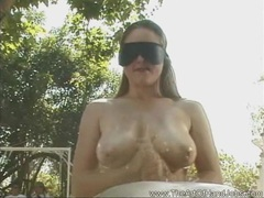 Handjob wearing a blindfold movies at sgirls.net