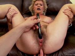 Pov sex with a big breasts grandma tubes