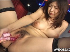 Asian busty stripper horny and wet tubes at chinese.sgirls.net