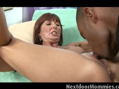 Mature woman takes a fat black cock videos