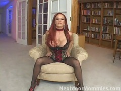 Redhead mom swallows cum from a big cock videos
