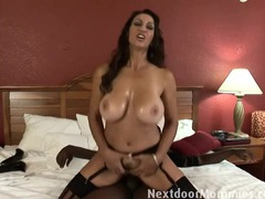 Big breasted mom banged in hotel room movies at lingerie-mania.com