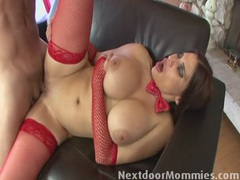 Big breasted mature santa slut fucked videos