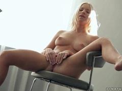 Naked young blonde kiara lord masturbates videos