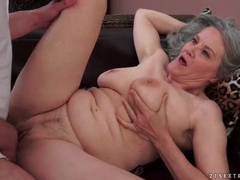 Grey haired grandma rides his hard dick movies at sgirls.net