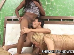 Rafaella iohan and michelle charme - sizzling shemales interracial threeway sex movies at kilotop.com