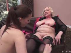 Old and young ladies in lingerie hook up movies at sgirls.net
