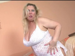 Chubby mature blonde models lace lingerie movies at find-best-mature.com