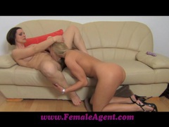 Femaleagent pole dancer learns new moves videos