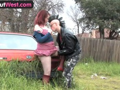 Girls out west - amateur australian punk couple having sex movies at freekiloclips.com