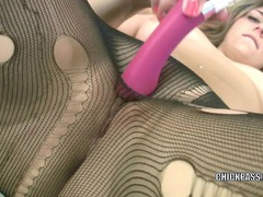 Curvy coed brooke is fucking her tight twat with a toy movies at kilopics.net