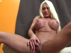 Ashlee chambers plays with her big clit movies at kilovideos.com
