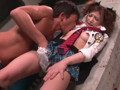 He licks naughty japanese girl asa mihara all over videos