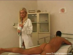 Blonde dutch doctor fucks her patient movies at kilomatures.com