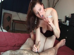 Redhead strips sensually and sucks his hard cock videos