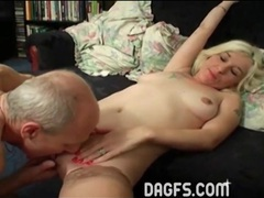 Big cock old guy fucks young blonde girl movies at freelingerie.us