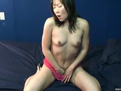 Pink ruffled panties are sexy on asian webcam girl videos