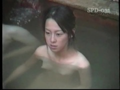 Young naked asians in the public bath are sexy tubes at thai.sgirls.net