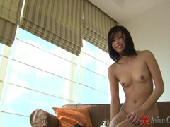 Asian striptease and foot play tubes at thai.sgirls.net