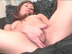 Small tits girl erotically rubs her pussy movies at freekiloporn.com