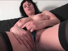 Voluptuous mature brunette with a fat ass videos