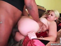Bbc fucks slutty sarah vandella hard movies at freekilomovies.com