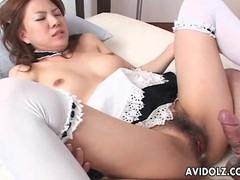Doggystyle fucking with naughty french maid tubes at japanese.sgirls.net