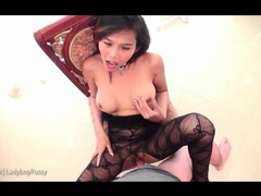 Cumshot in her ladyboy pussy is thick and creamy movies at kilotop.com