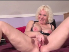 Horny solo mature excites her pussy with a toy movies at kilopics.com