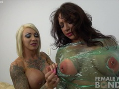 Dani andrews and brandimae - plastic wrapped up videos