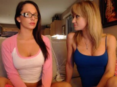 Big boobs hotties on webcam in tight clothes movies at lingerie-mania.com