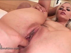 Dildo fills soaking wet pussy of blonde movies at sgirls.net