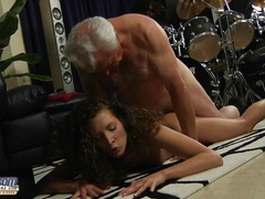 Fat old man fucks curly hot babe movies at find-best-panties.com