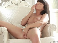 Sexy ava dalush rubs her body erotically videos