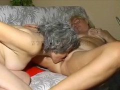 Granny licks the cunt of a blonde mature lesbian movies at sgirls.net