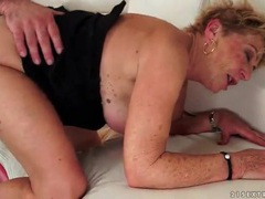 Cocksucking granny bent over and fucked videos