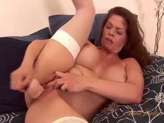 Solo june summers dildo fucks her pussy videos