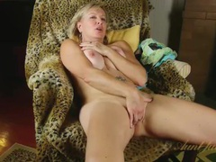 Busty mature strips naked to pleasure her pussy videos