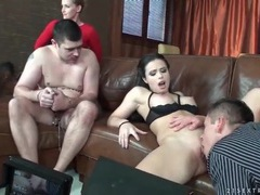 Behind the scenes of a cuckold fuck video videos