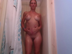 Shower head makes cunt of cherie deville happy movies at find-best-tits.com