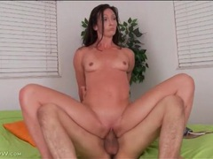 Fit body milf beauty on top of his cock videos