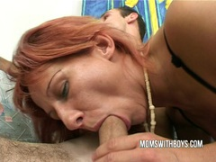 Stepmom helps young boy getting hard movies at find-best-mature.com